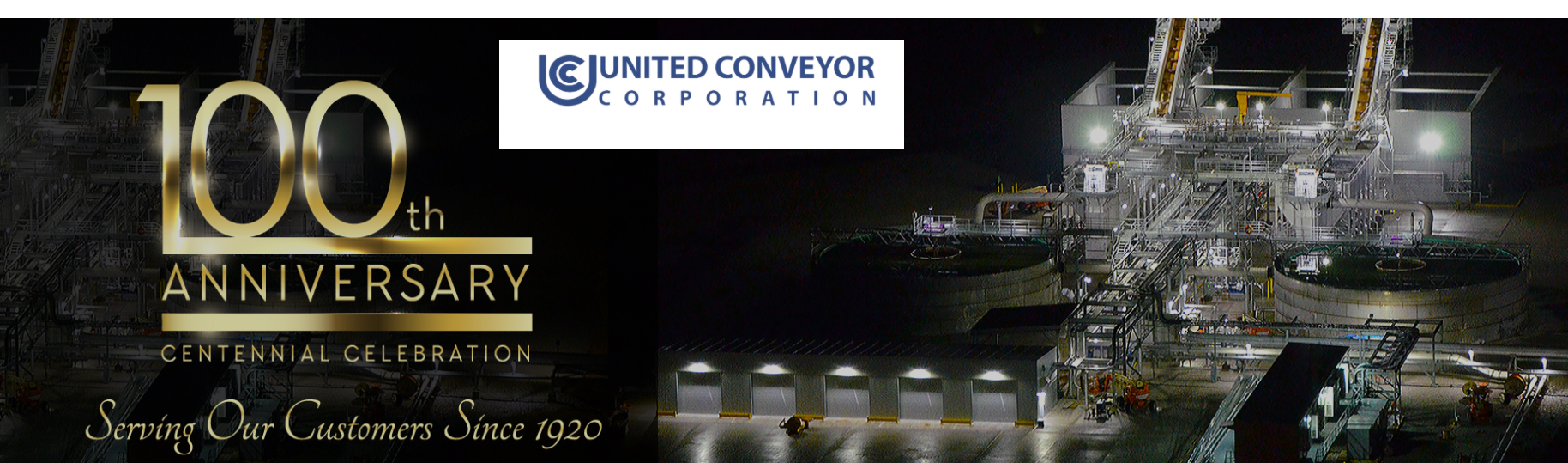 100 lecie naszego partnera -UCC United Conveyor Corporation